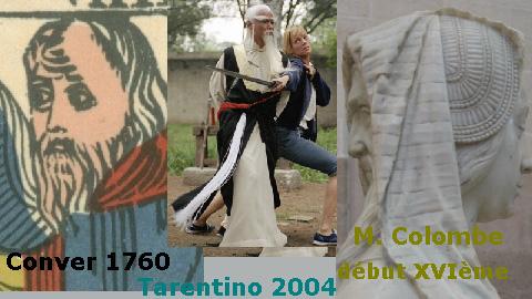 "La carte du tarot ""L'Hermite"" Hermite-paimei-colombe"